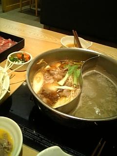 夕飯:すき焼き&しゃぶしゃぶ7/1